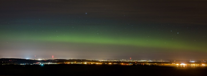 Aurora Borealis over Dundee