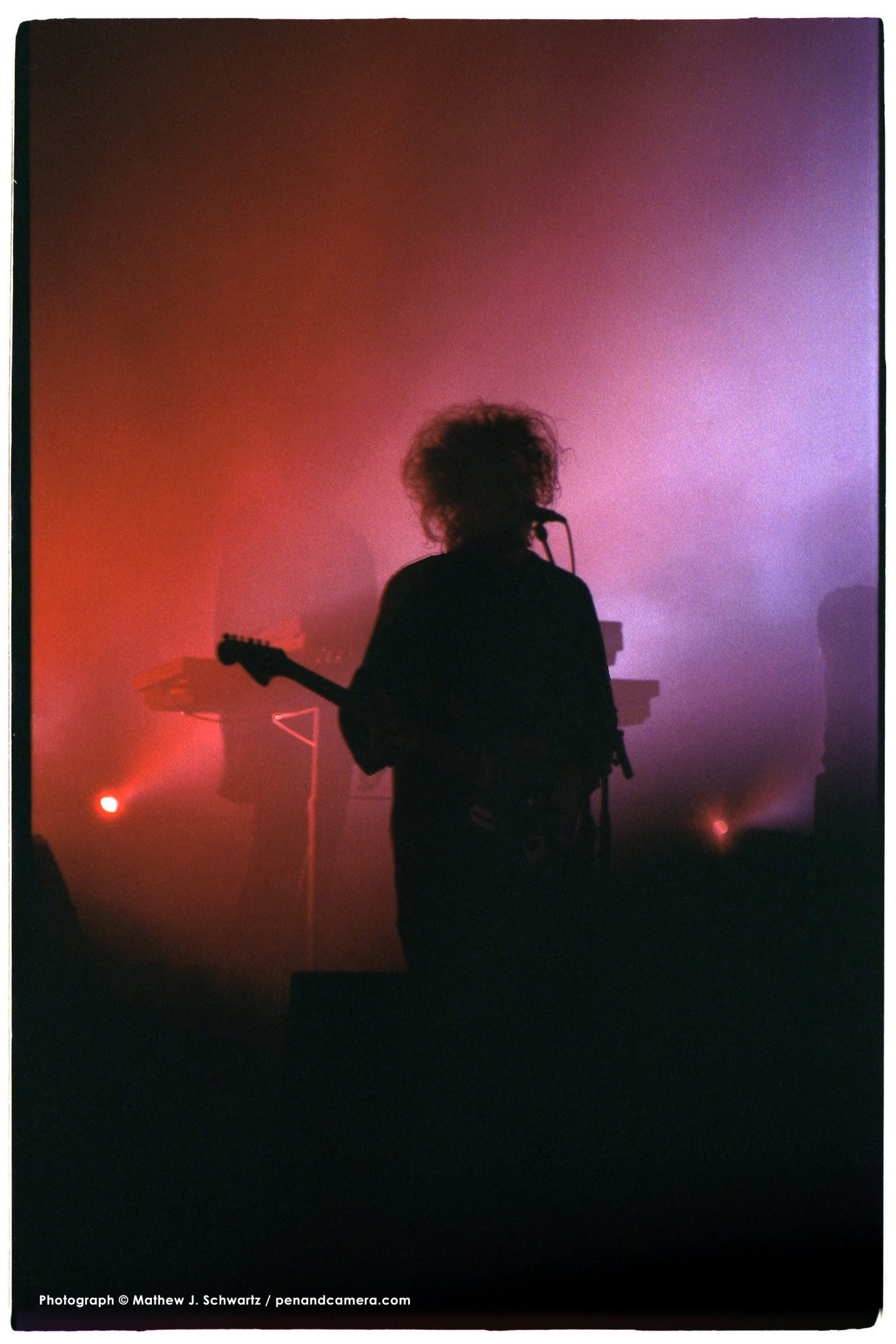 The Cure Live at Giants Stadium in 1989