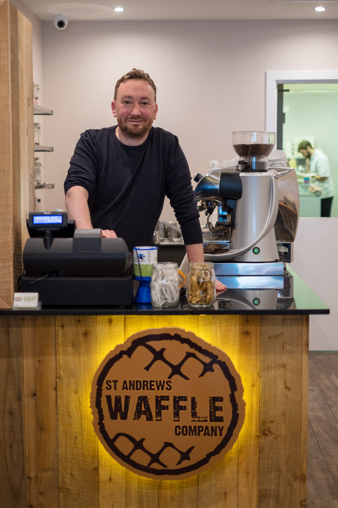 St Andrews Waffle Co. Reopens