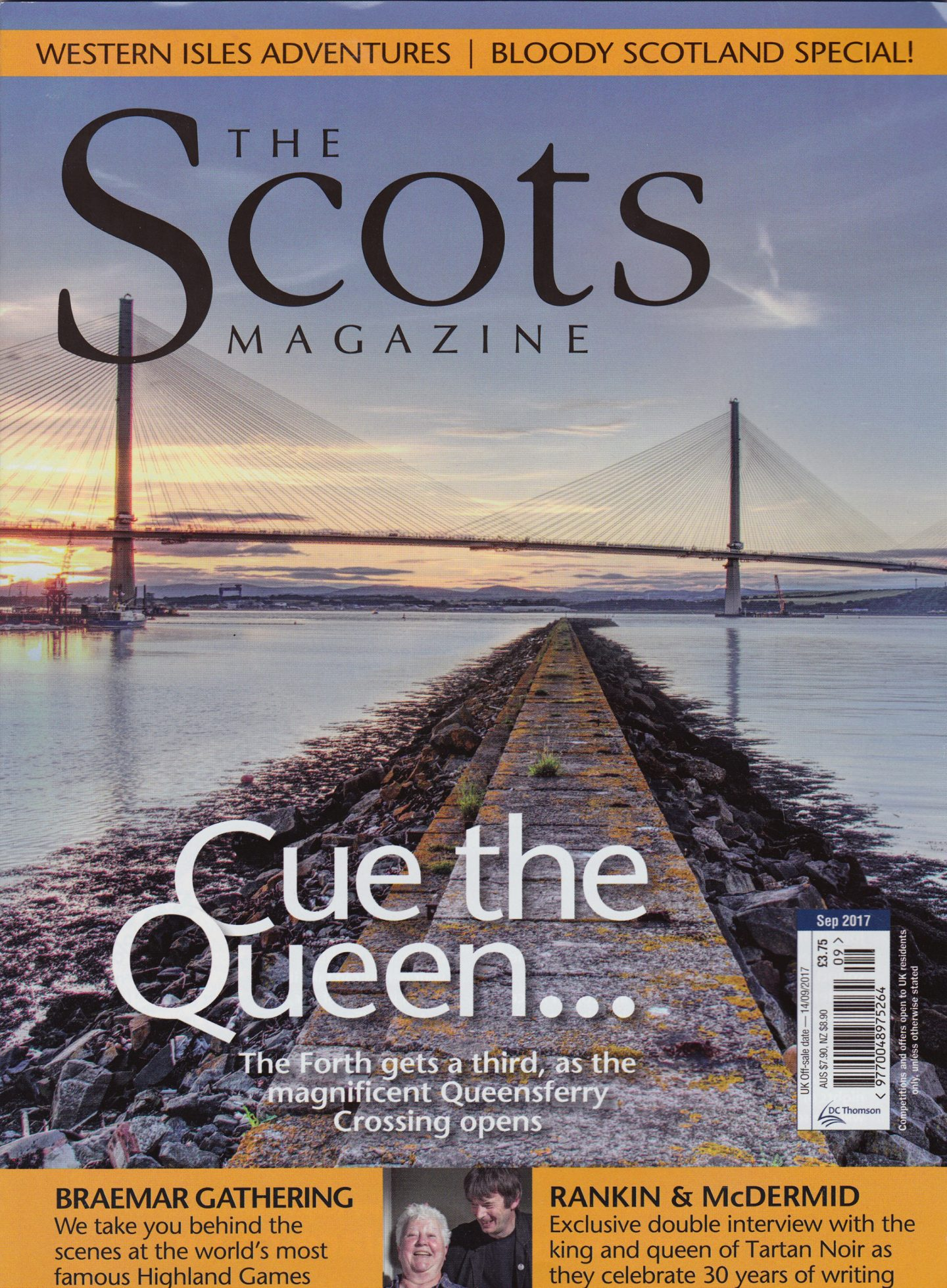 Editorial Tearsheet: The Scots Magazine