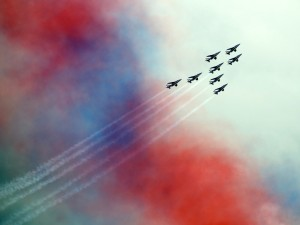 Patrouille de France at Leuchars