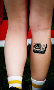 Phonograph Tattoo