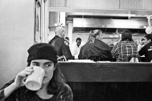 Sheri In Mikes Diner